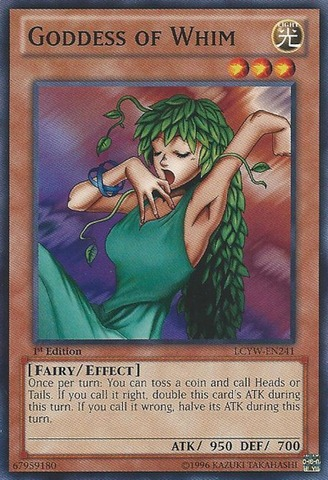 Goddess of Whim - LCYW-EN241 - Common - Unlimited Edition