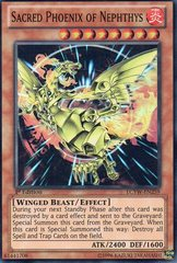 Sacred Phoenix of Nephthys - LCYW-EN259 - Super Rare - Unlimited Edition