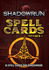 Shadowrun 5E Spell Cards, Series 1