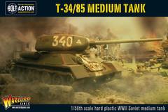 Bolt Action T-34/85 Medium Tank