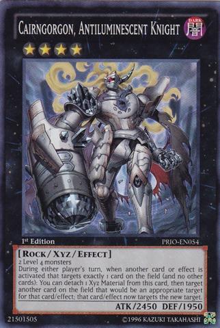 Cairngorgon, Antiluminescent Knight - PRIO-EN054 - Super Rare - Unlimited Edition
