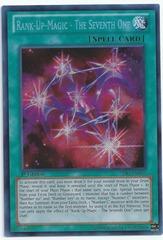 Rank-Up-Magic - The Seventh One - PRIO-EN058 - Secret Rare - Unlimited Edition