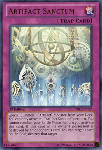 Artifact Sanctum - PRIO-EN072 - Ultra Rare - Unlimited Edition