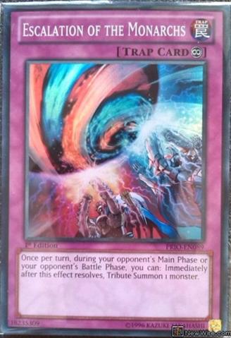 Escalation of the Monarchs - PRIO-EN089 - Super Rare - Unlimited Edition