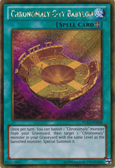 Chronomaly City Babylon - PGLD-EN008 - Gold Secret Rare - Unlimited Edition