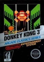 Donkey Kong 3 - Arcade Classics Series (3 Screw Cartridge)