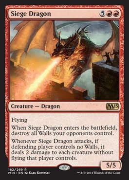Siege Dragon - Foil