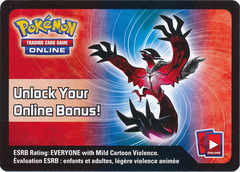 Legends of Kalos - Yveltal Tin Code Card