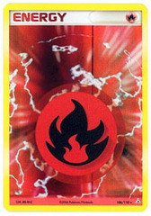 Fire Energy 106/110 - Rare Holo