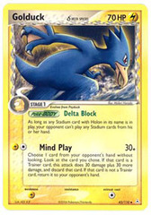 Golduck - 43/110 - Uncommon on Channel Fireball