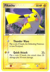 Pikachu - 78/110 - Common