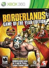 Borderlands: Game of the Year Edition - Disc Edition (DLC Disc Version)