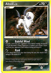 Absol - 21/132 - Rare on Channel Fireball