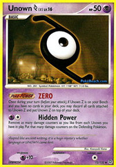 Unown [Z] - 72/132 - Uncommon