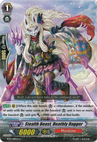 Stealth Beast, Deathly Dagger - BT14/089EN - C