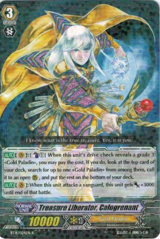 Treasure Liberator, Calogrenant - BT14/024EN - R