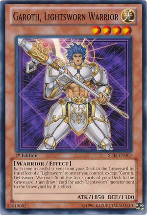 Garoth, Lightsworn Warrior - SDLI-EN009 - Common - 1st Edition
