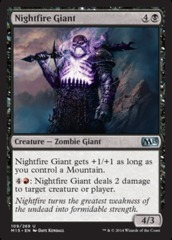 Nightfire Giant - Foil