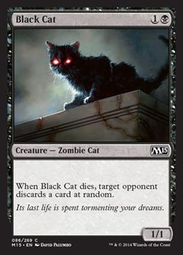 Black Cat - Foil