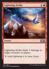 Lightning Strike on Channel Fireball