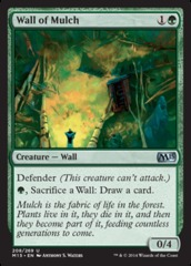 Wall of Mulch