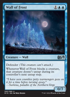 Wall of Frost - Foil