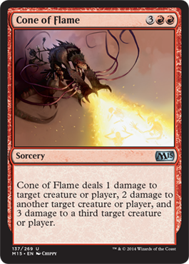 Cone of Flame - Foil