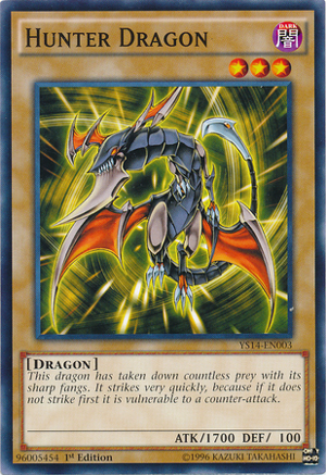 Hunter Dragon - YS14-EN003 - Common - 1st Edition