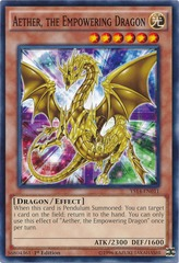 Aether the Empowering Dragon - YS14-EN011 - Common - 1st Edition