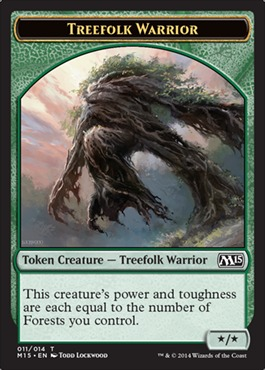 Treefolk Warrior Token