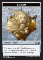 Emblem - Ajani (Magic 2015)