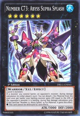 Number C73: Abyss Supra Splash - DRLG-EN041 - Super Rare - Unlimited Edition