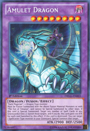 Amulet Dragon - DRLG-EN003 - Secret Rare - Unlimited Edition