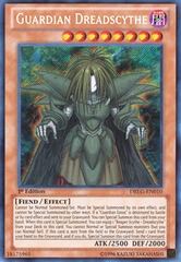 Guardian Dreadscythe - DRLG-EN010 - Secret Rare - Unlimited Edition