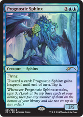 Prognostic Sphinx (Magic 2015 Clash Pack Promo)