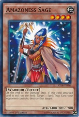 Amazoness Sage - YS14-ENA06 - Common - 1st Edition