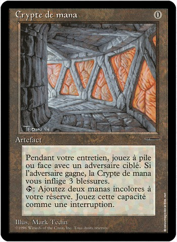 French Mana Crypt - Book Promo