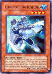 Elemental Hero Bubbleman - CRV-EN014 - Rare - 1st Edition