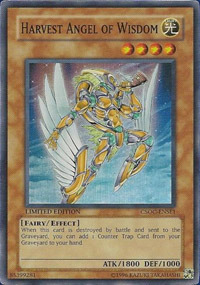 Harvest Angel of Wisdom - CSOC-ENSE1 - Super Rare - Limited Edition