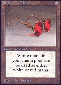 Sunglasses of Urza