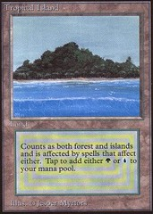 Tropical Island on Channel Fireball