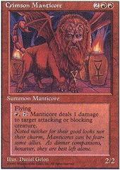 Crimson Manticore