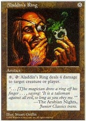 Aladdin's Ring on Channel Fireball