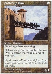 Battering Ram on Channel Fireball