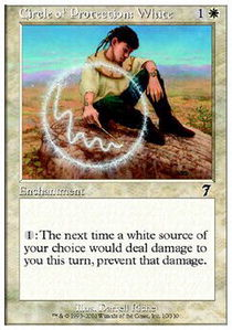 Circle of Protection White