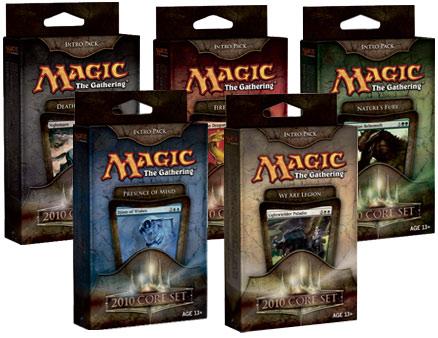 Magic 2010 (M10) Intro Pack Display: (All 5 Decks)