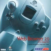 Sega Web Browser 2.0 with SegaNet