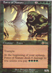 Force of Nature on Channel Fireball