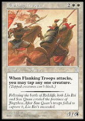 Flanking Troops on Channel Fireball