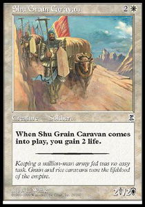 Shu Grain Caravan